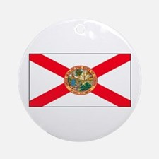 Florida Sunshine State Flag Christmas Ornament