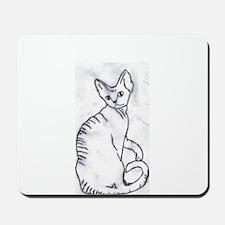 Devon Rex Purebred Kitty Cat Mousepad
