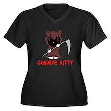 Goodbye Kitty Plus Size T-Shirt