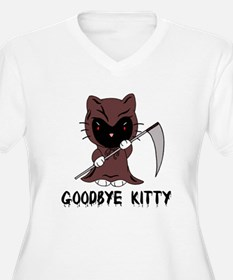 Goodbye Kitty Plus Size T-Shirt