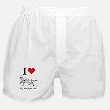Bengal Cat Love Boxer Shorts