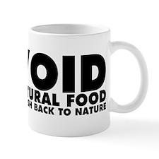 Avoid All-Natural Food Mug