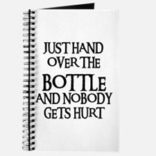 HAND OVER THE BOTTLE Journal