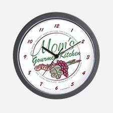 Mom's Gourmet Kitchen Wall Clock