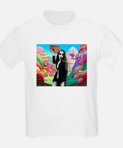 Goth Girl In Candyland 001 T-Shirt