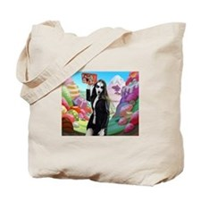 Goth Girl In Candyland 001 Tote Bag