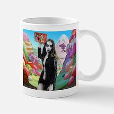 Goth Girl In Candyland 001 Mug