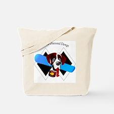 Double Diamond Dawgz Tote Bag