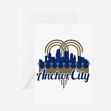 Anchor City Greeting Card