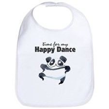 Happy Dance Panda Bib