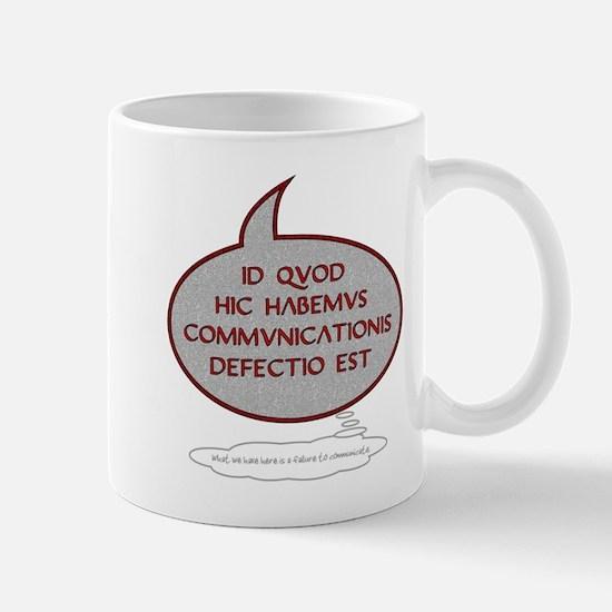 Latin 'Failure to Communicate' Mug