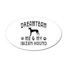 Ibizan Hound Dog Designs Wall Decal