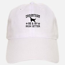 Irish Setter Dog Designs Baseball Baseball Cap