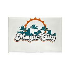 Magic City Rectangle Magnet