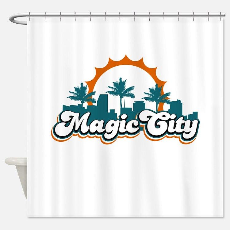 Magic City Shower Curtain