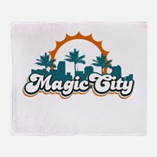 Magic City Throw Blanket