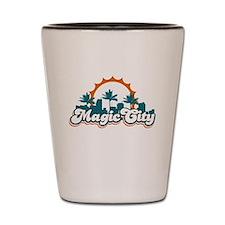 Magic City Shot Glass