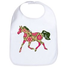 Floral Horse Bib
