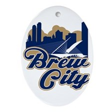 Brew City Ornament (Oval)