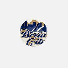 Brew City Mini Button
