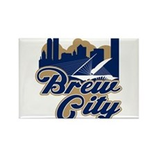 Brew City Rectangle Magnet