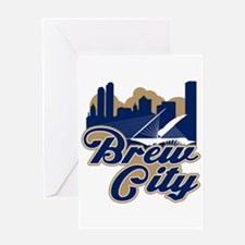 Brew City Greeting Card