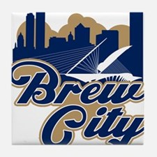 Brew City Tile Coaster