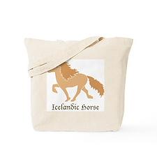 Dun color Icelandic horse Tote Bag