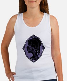 Gothic Skull Cameo Women's Tank Top