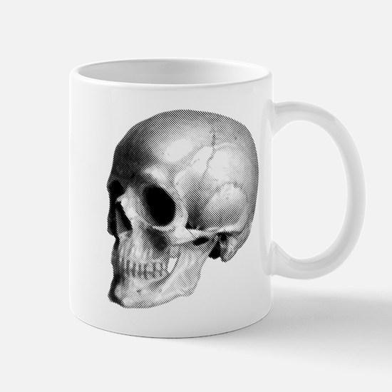 Skull Illustration Mug