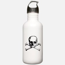 Classic Skull And Crossbones Water Bottle