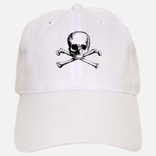 Classic Skull And Crossbones Baseball Baseball Cap