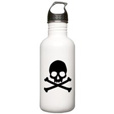 Simple Skull And Crossbones Stainless Water Bottle