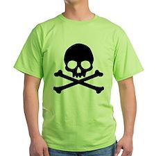 Simple Skull And Crossbones T-Shirt