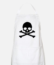 Simple Skull And Crossbones Apron