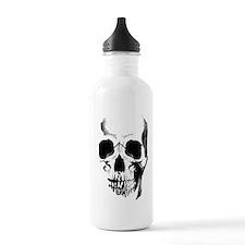 Skull Face Water Bottle