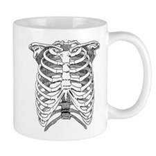 Ribcage Illustration Mug