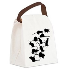 Lots Of Rats Canvas Lunch Bag