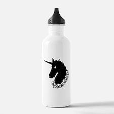 Gothic Unicorn Water Bottle