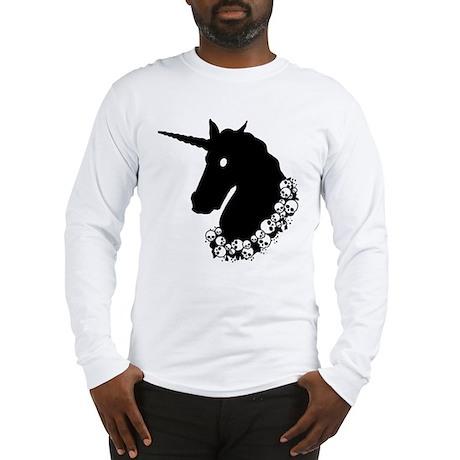 Gothic Unicorn Long Sleeve T-Shirt