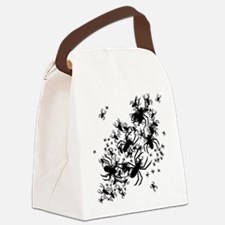 Lots Of Spiders Canvas Lunch Bag