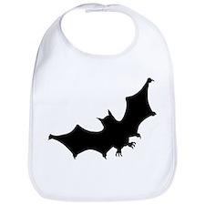 Bat Silhouette Bib