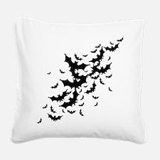 Lots Of Bats Square Canvas Pillow