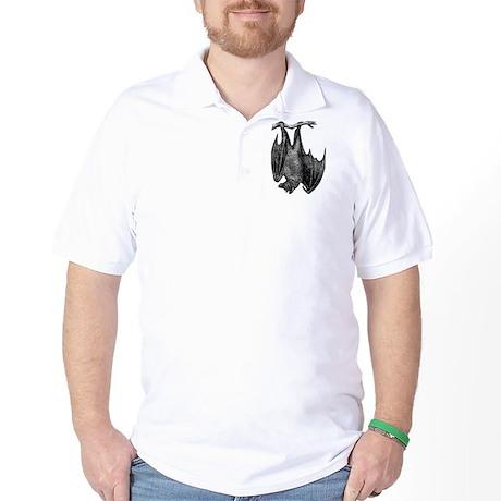 Hanging Bat Golf Shirt