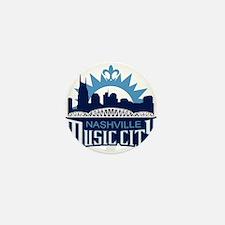 Music City Mini Button