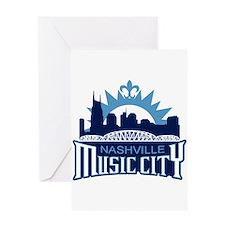 Music City Greeting Card