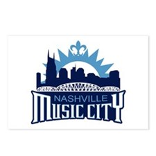 Music City Postcards (Package of 8)
