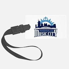 Music City Luggage Tag