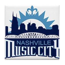 Music City Tile Coaster