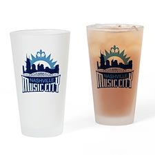 Music City Drinking Glass